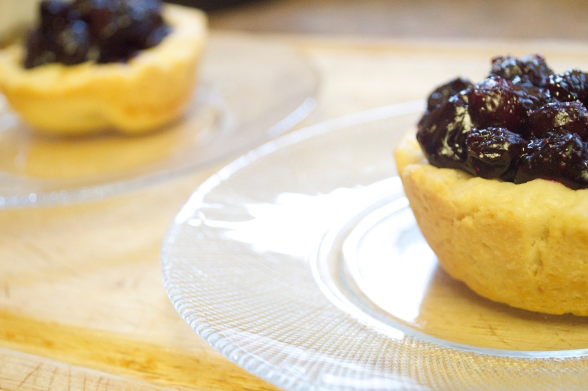 Sweet As (mini) BlueBerry Pies