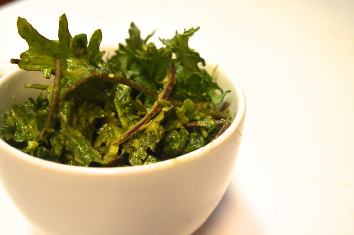 Kale, Avocado , Red OnionSalad