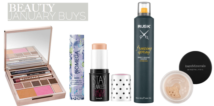 January Beauty Buys