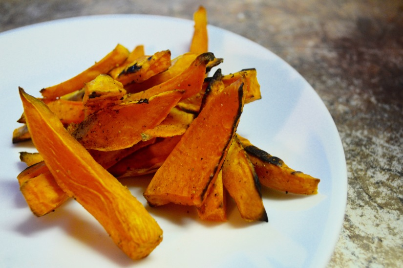 SPICY SWEET POTATOE FRIES